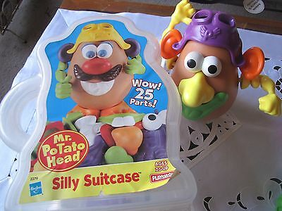 MR POTATO HEAD - Silly Suitcase - 25 pieces - Great Condition!