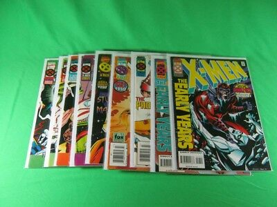 Lot of 10 Marvel Comics X-Men No. 17,13 & 3,7,10,12 & 4-7  1995-1996 Comic Books