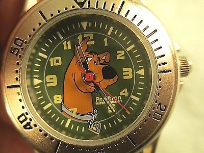 2001 Scooby-doo watch made by Armitron for Hanna Barbera: 100 ft water resistant