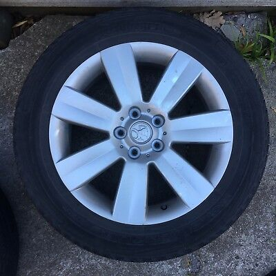 HOLDEN CAPTIVA WHEEL MAG RIM WITH 235/55R18 TYRE Not Road Worthy