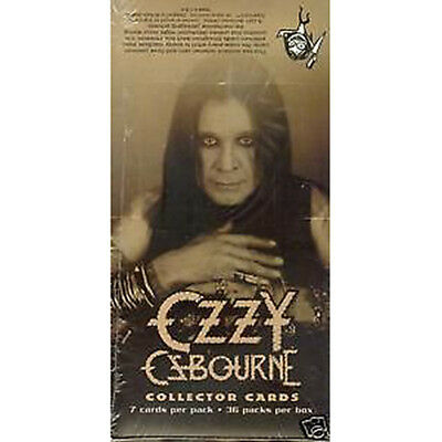 OZZY OSBOURNE - Collector Cards Factory Sealed Box (Moonwise) #NEW