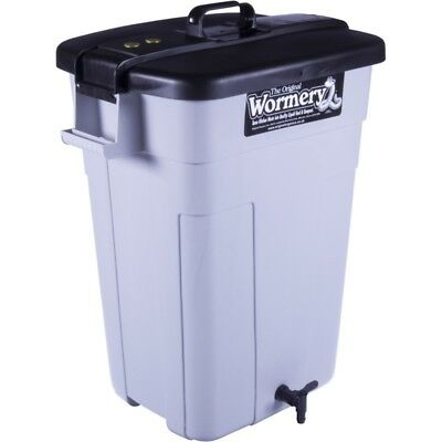 100 Litre Wormery with Tiger Worms *Brand New* Compost *Kitchen Waste* Bin