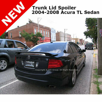 Painted Trunk Spoiler For 04-08 Acura TSX NH700M ALABASTER SILVER MET