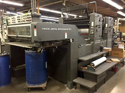 Hiedelberg 102 ZP offset press