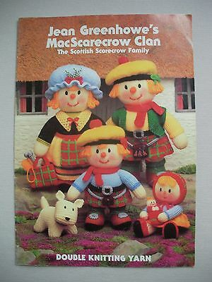 Jean Greenhowes - MacScarecrow Clan - Toy Knitting Pattern Book