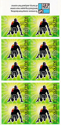 Australia 2006 mint unhinged BOOKLET GAMES