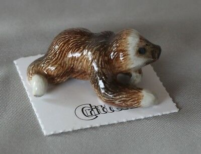 Little Critterz 2-toed sloth 'Millie' LC852 bone china miniature ceramic animals