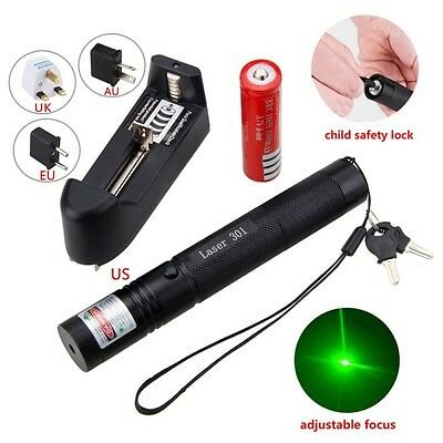 Military Green Laser Pointer Lights Pen Lazer Beam Professional 1mw 532nm 10mile
