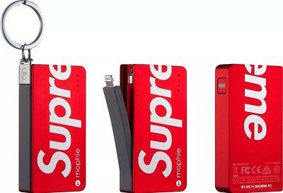 Supreme Mophie Power Reserve S/s 15 New Box Logo