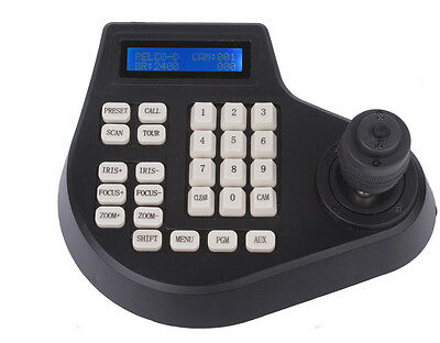 4 Axis Dimension joystick cctv keyboard controller for ptz Speed Dome Camera New