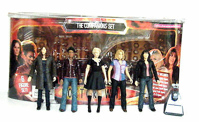 DOCTOR WHO THE COMPANIONS 6 PIECE ACTION FIGURE SET THE 10th DOCTOR