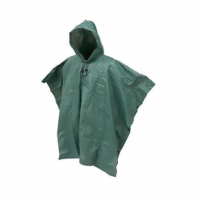 Frogg Toggs Outer Ware Adult Ponchos Dark Green One Size
