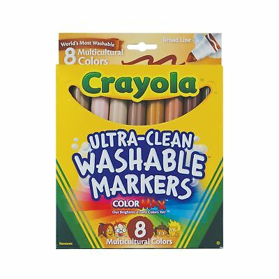 Crayola Markers Multicultural Washable 8-Count