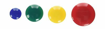 Lorell Tub of Assorted Magnet -Small Medium Large -30/Pack -Assorted