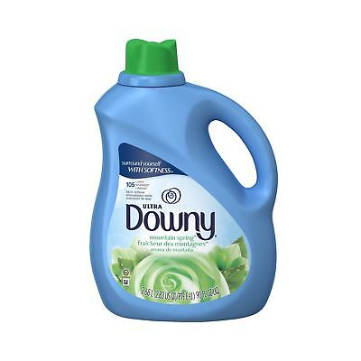 Downy Ultra Liquid Fabric Softener Mountain Spring Scent 2.68 L (105 Loads) -...