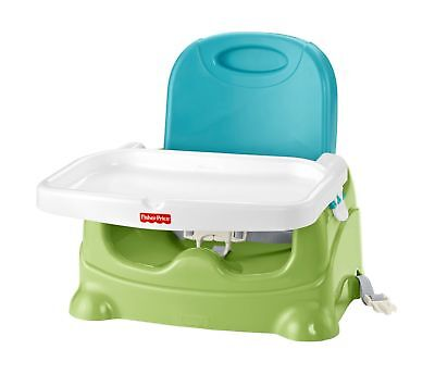 Fisher-Price Healthy Care Booster Seat Green/Blue