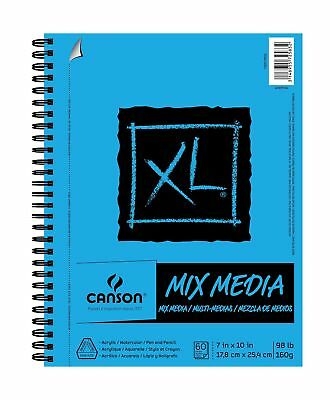 Canson Multi Media Paper Pad 60 Pages 7 by 10-Inch