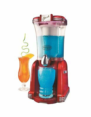 Nostalgia RSM650 Retro Vertical Slush Machine Red