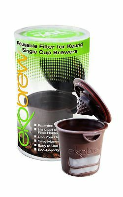 Ekobrew Refillable K-cup for Keurig 1.0 Brewers Brown