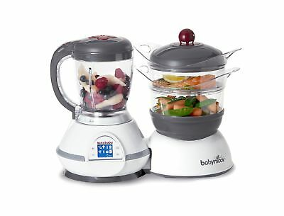Babymoov Nutribaby - 5 in 1 Baby Food Maker with Steam Cooker Blend & Puree W...