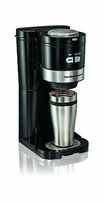 Hamilton-Beach 49989C Single Serve Grind and Brew 1
