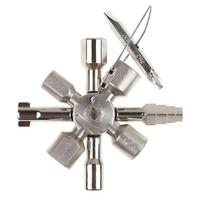 10 In1 Universal Cross Square Triangle Train Electrical Cabinet Elevator Key US