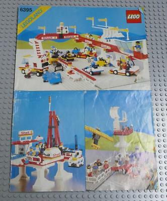 LEGO INSTRUCTIONS MANUAL BOOK ONLY 6395 Victory Lap Raceway x1PC