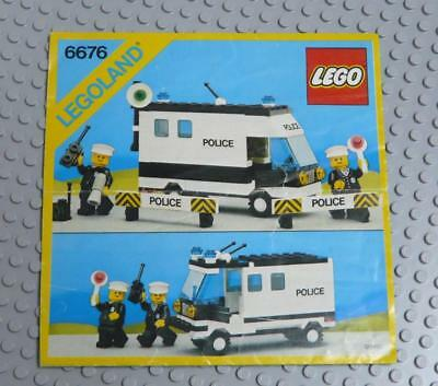LEGO INSTRUCTIONS MANUAL BOOK ONLY 6676 Mobile Command Unit x1PC