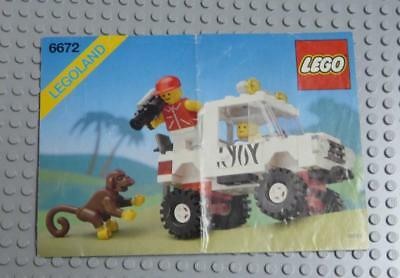 LEGO INSTRUCTIONS MANUAL BOOK ONLY 6672 Safari Off-Road Vehicle x1PC