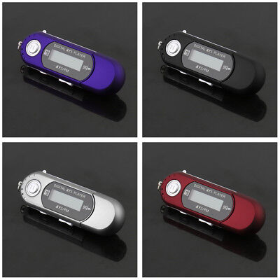 USB 2.0 Flash Drive LCD Mini MP3 Music Player with FM Radio Voice MN