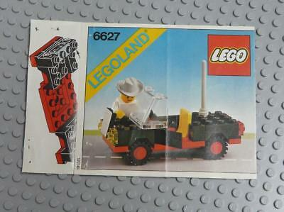 LEGO INSTRUCTIONS MANUAL BOOK ONLY 6627 Convertible x1PC