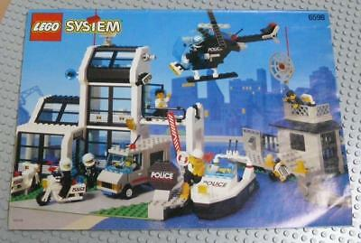 LEGO INSTRUCTIONS MANUAL BOOK ONLY 6598 Metro PD Station x1PC