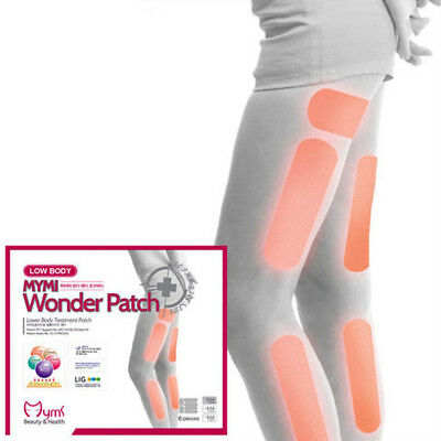 18pcs Wonder Patch MYMI Thigh Lower Body Slimming Fat Burner Slim Patches UK