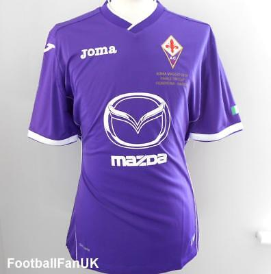 FIORENTINA Joma Coppa Italia Final Home Shirt 2014 New S,M,L,XL Jersey Maglia