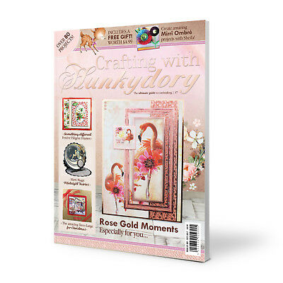 Crafting with Hunkydory Magazine Issue 37 Including FREE Oh Deer Papercraft Kit