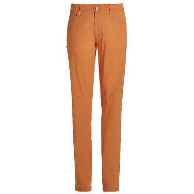GOLFINO 5-Pocket Techno Stretch Hose Dusty Orange Herren Orange