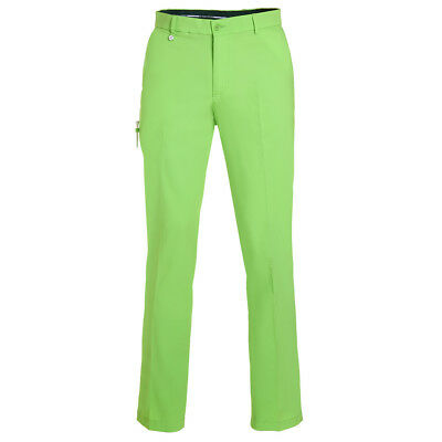 GOLFINO Techno Stretch Hose regular Green flash Herren