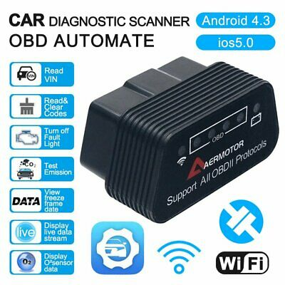 KW902 ELM327 Bluetooth Car OBD2 OBDII Auto Fault Diagnostic Interface BDRG 2017