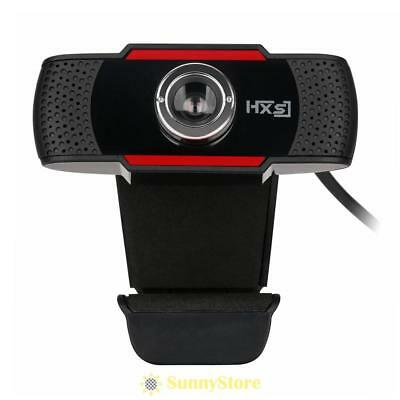 USB 2.0 HD12MP Webcam Web Cam Camera With Mic Microphone for Laptop Desktop PC