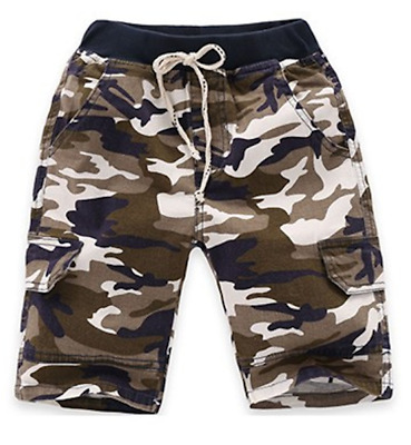 Kids Baby Boys Camouflage Shorts Pants