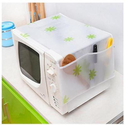 Microwave Oven Waterproof Oil Dust Cover With Double Pockets Microwave Cover