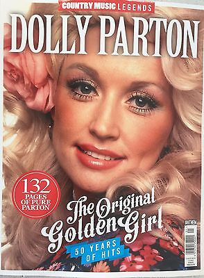 Country Music Legends - Dolly Parton - The Original Golden Girl Magazine...new