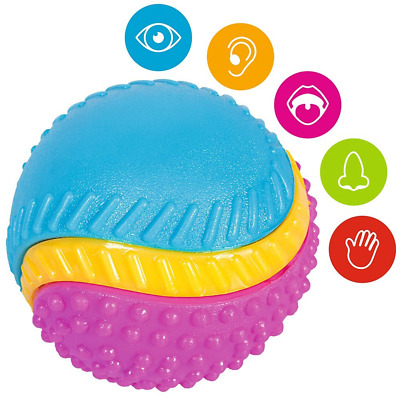 Ruff 'N' Tumble Five Senses Dog Ball Interactive Play Fun Treat With Sound Smell