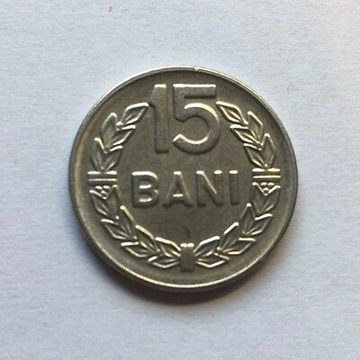 ROMANIA (socialist republic) 15 bani coin - 1966 - UNCIRCULATED
