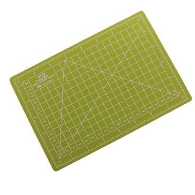 A5 22x15cm Self-Healing Cutting Mat DIY Quilting Craft PVC Board Grass green