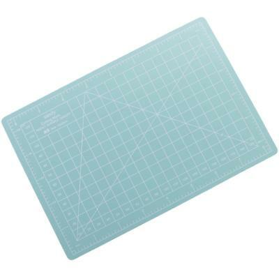 A5 22x15cm Self-Healing Cutting Mat DIY Quilting Craft PVC Board Mint green