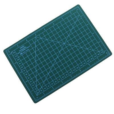 A5 22x15cm Self-Healing Cutting Mat DIY Quilting Crafts PVC Board Green