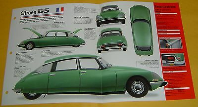 1971 Citroen DS21 Inline 4 Cylinder 108 hp 2175cc EFI info/specs/photo
