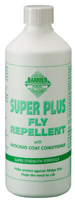 Barrier Super Plus Fly Repellent 500ml Refill Pest Fly Louse Insect Control Pest