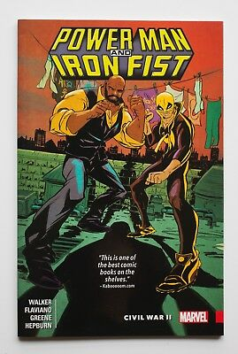 Power Man and Iron Fist Civil War II Vol. 2 Marvel Graphic Novel Comic Book